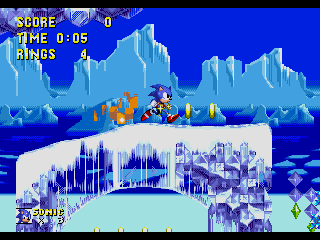 Screenshot Thumbnail / Media File 1 for Sonic the Hedgehog 2 (World) (Rev A) [Hack by SMTP v0.50] (~Sonic 2 SMTP)